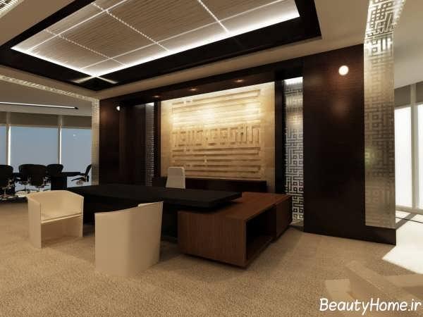 طراحی دکوراسیون داخلی دفتر کار با کمک روش های مدرن
