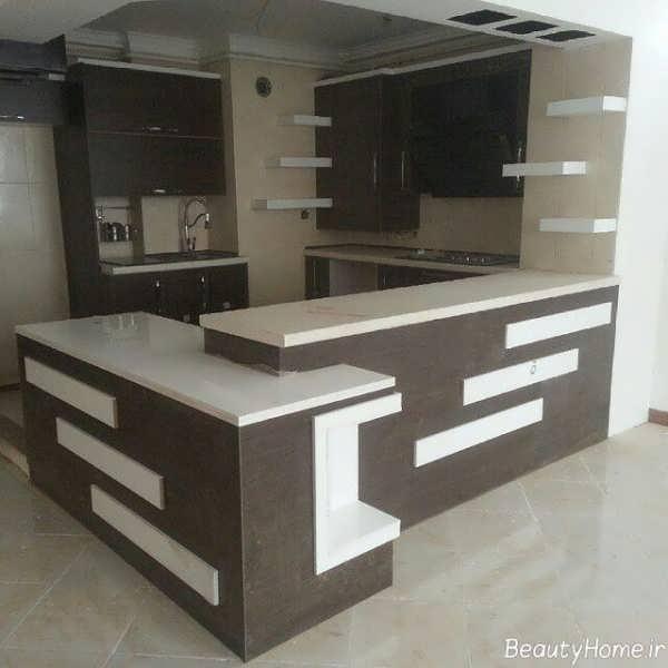 انواع مدل های زیبا و شیک اپن آشپزخانه