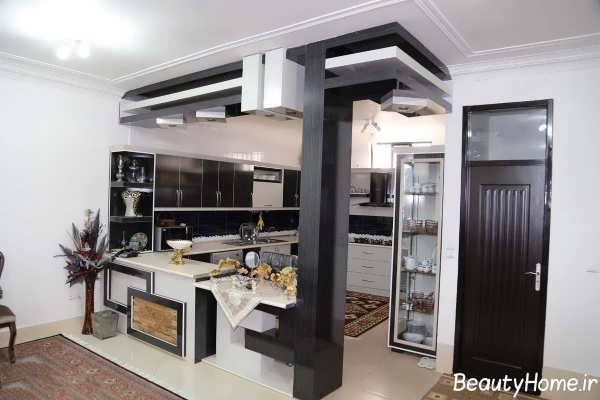 مدل های اپن آشپزخانه با طراحی های مختلف