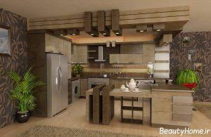 مدل های جدید و مدرن آشپزخانه اپن