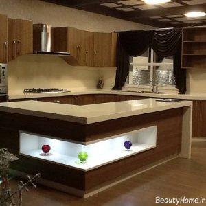 مدل اپن آشپزخانه مدرت و شیک