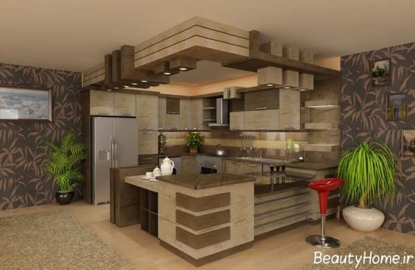 انواع مدل های زیبا اپن آشپزخانه