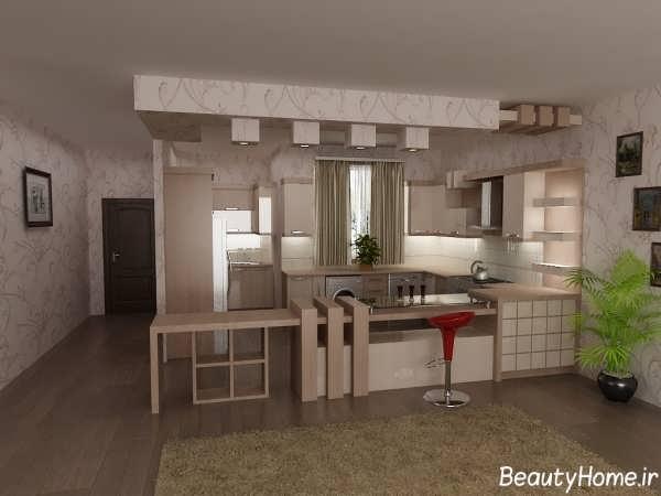 مدل های زیبا و شیک آشپزخانه اپن با طراحی متفاوت
