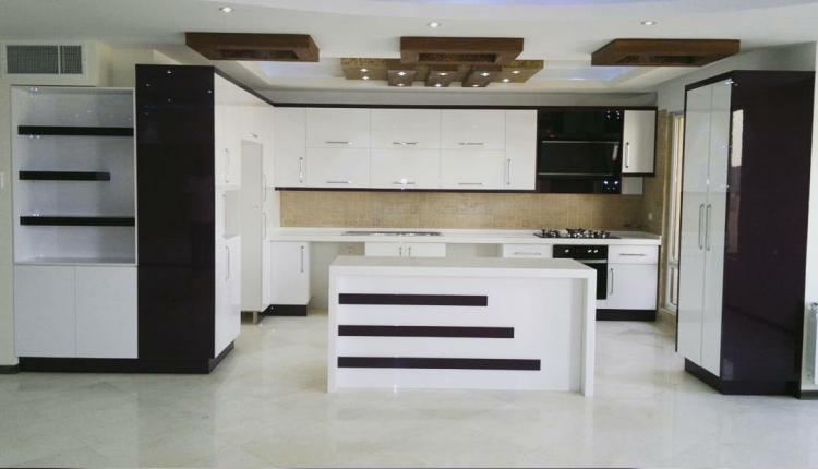 مدل آشپزخانه اپن با طراحی زیبا و متفاوت