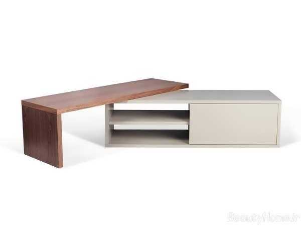 انواع مدل های زیبا و جدید میز تلویزیون