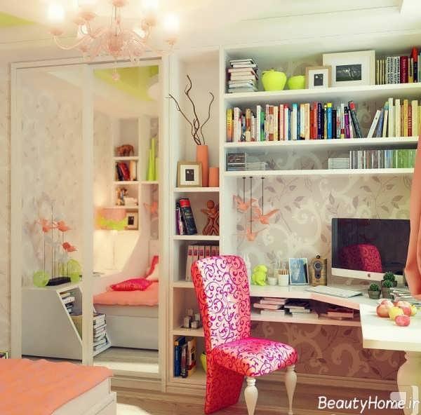 طراحی دکوراسیون داخلی اتاق خواب نوجوان