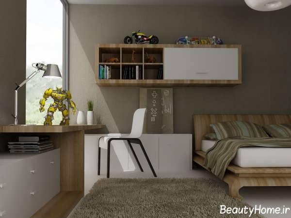 طراحی داخلی اتاق نوجوان با دکوراسیون های مدرن و جدید