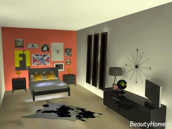 طراحی اتاق نوجوان پسر