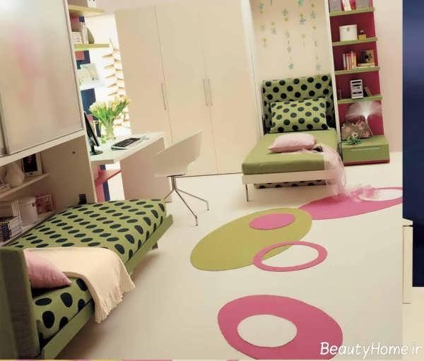 طراحی داخلی اتاق نوجوان دختر
