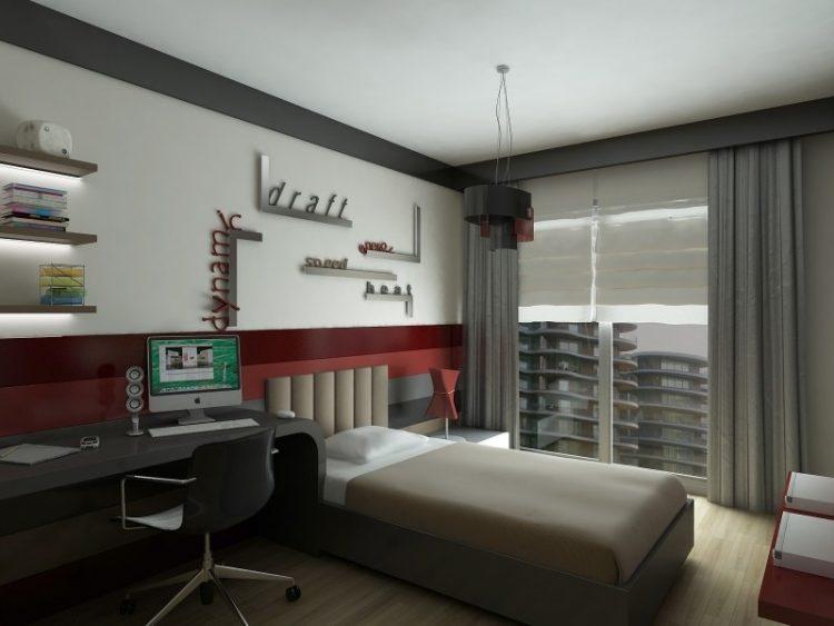 طراحی داخلی اتاق نوجوان با دکوراسیون های فانتزی
