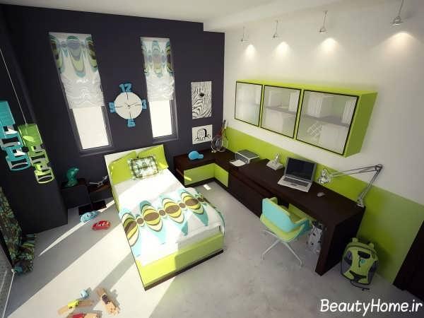 دکوراسیون داخلی اتاق خواب نوجوانان