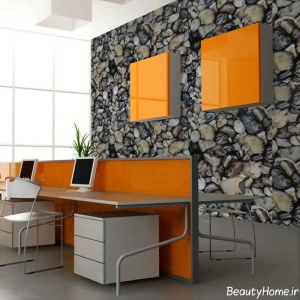 انواع طرح های متنوع کاغذ دیواری برای محیط های اداری