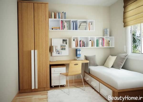 دکوراسیون داخلی اتاق خواب جوان دختر و پسر