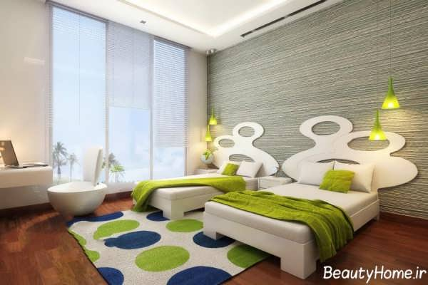 جدیدترین طراحی ها برای دکوراسیون اتاق خواب