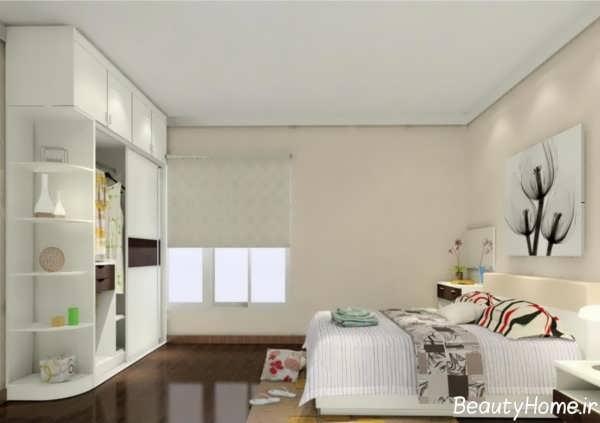 طراحی دکوراسیون داخلی اتاق خواب برای جوانان دختر و پسر