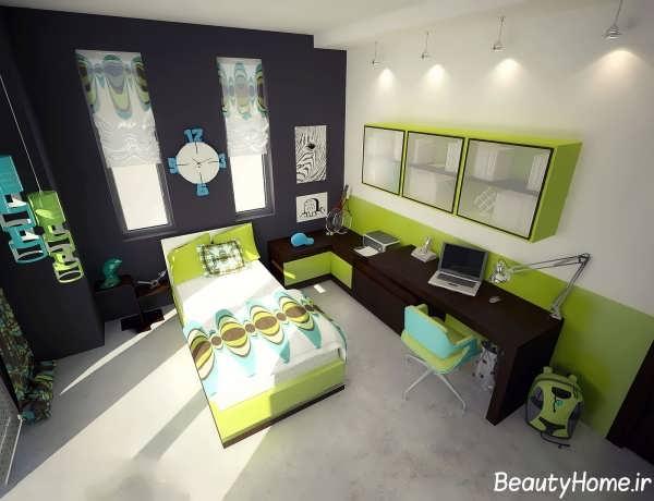 طراحی های دکوراسیون برای اتاق خواب جوانان