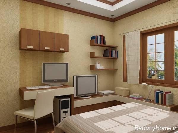دکوراسیون داخلی اتاق خواب جوان دختر و پسر با طراحی های زیبا