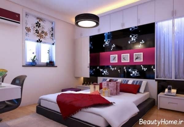 طراحی دکوراسیون اتاق خواب جوانان دختر و پسر