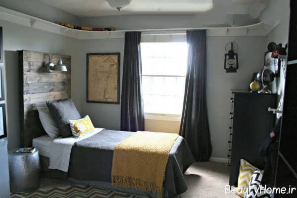 طراحی دکوراسیون زیبا برای اتاق خواب جوانان