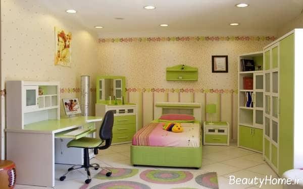 دکوراسیون داخلی زیبا برای اتاق خواب جوانان