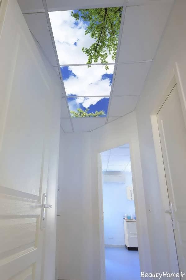 سقف کاذب آسمان مجازی برای مکان های مختلف