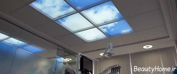 سقف های کاذب آسمان های مجازی برای مکان های مختلف