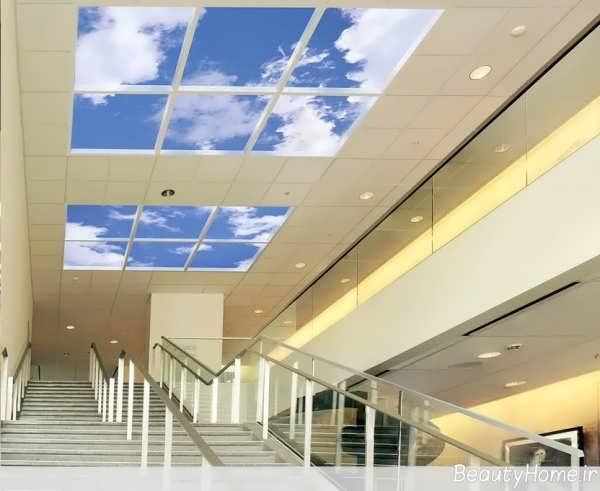 آسمان های مجازی برای راهرو ها