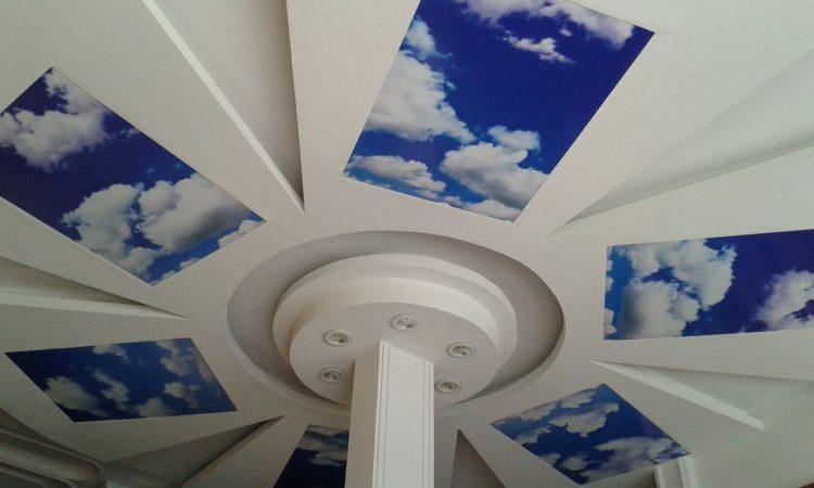 طرح های آسمان مجازی برای سقف مکان های مختلف