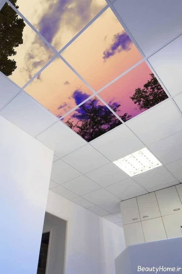 سقف های کاذب آسمان مجازی