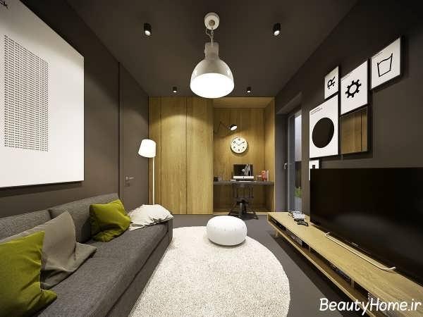 طراحی دکوراسیون داخلی در خانه ای مدرن و زیبا