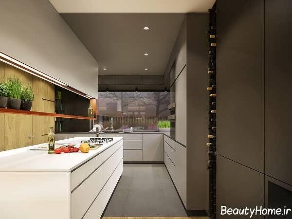 دیزاین دکوراسیون داخلی پاییزی در آشپزخانه