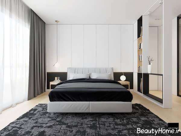 دکوراسیون داخلی زیبا و شیک اتاق خواب دو نفره