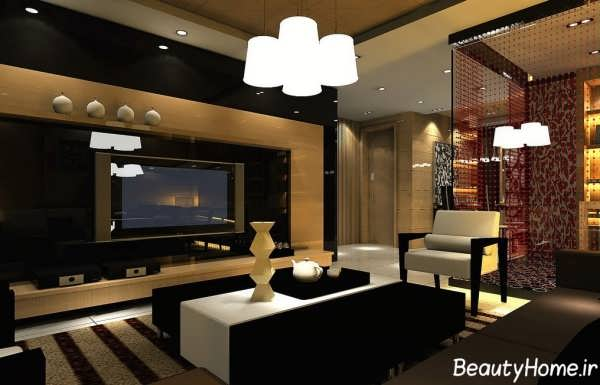 اتاق پذیرایی کلاسیک و سنتی
