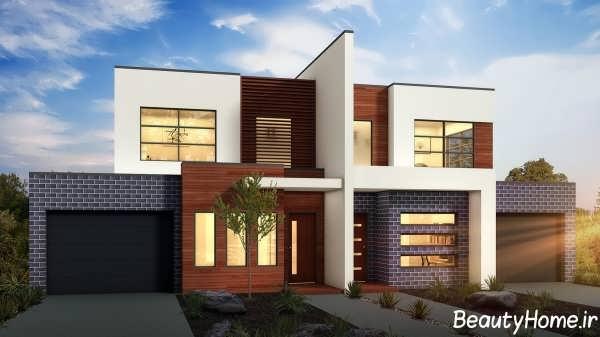 نمای ساختمان های دوبلکس با انواع طراحی مدرن