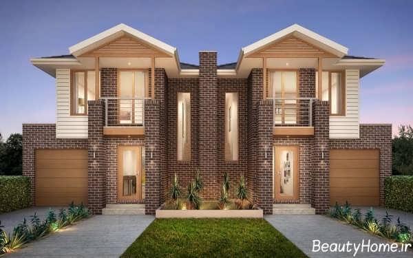 انواع طراحی زیبا برای نمای ساختمان دوبلکس