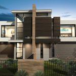 نمای ساختمان دوبلکس با انواع طراحی مدرن