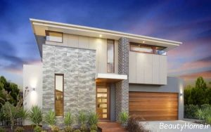 نمای خارجی خانه های دوبلکس با طراحی زیبا