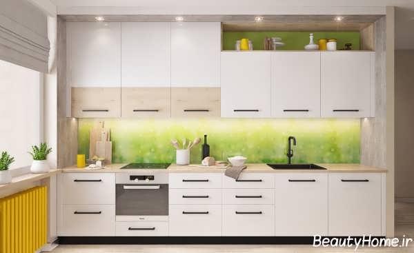 طراحی دکوراسیون داخلی آشپزخانه های کوچک