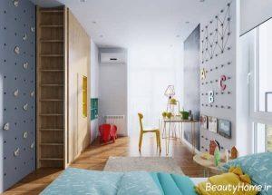 دکوراسیون مدرن برای اتاق خواب کودک