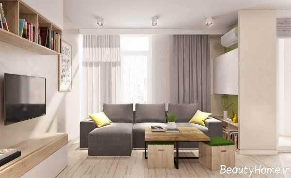 دکوراسیون داخلی منازل کوچک با طراحی مدرن