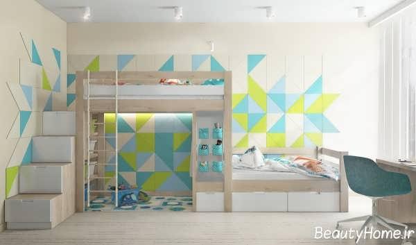 طراحی دکوراسیون داخلی اتاق خواب کوچک