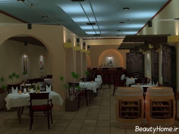 دکوراسین رستوران با طراحی زیبا و کاربردی