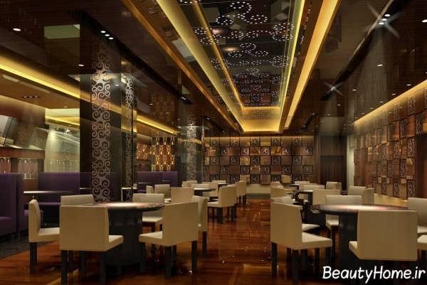 طراحی داخلی رستوران کوچک