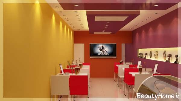 دکوراسیون داخلی رستوران کوچک