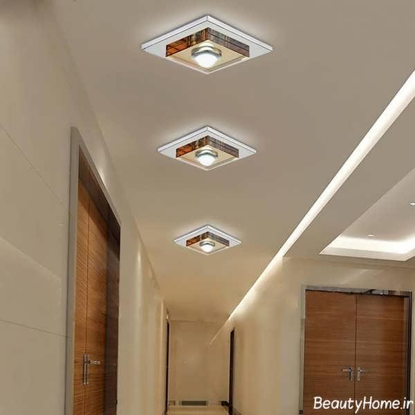 سقف کناف راهرو با طراحی شیک و کاربردی