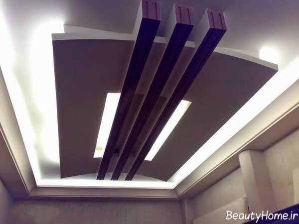 کناف با طرح زیبا برای راهرو ساختمان