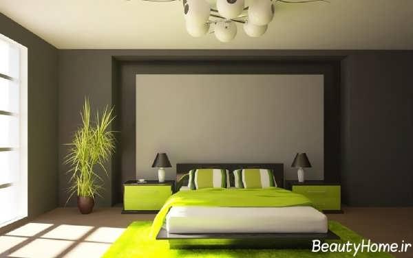 طراحی دکوراسیون داخلی اتاق خواب مینیمال