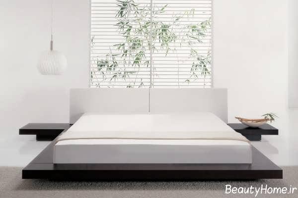 دکوراسیون اتاق خواب مینیمال و ساده