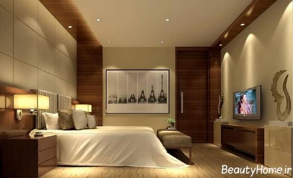 اتاق خواب مینیمال با طراحی شیک و کاربردی