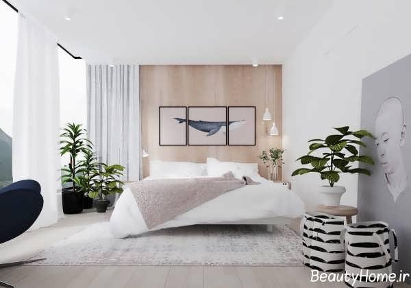 طراحی دکوراسیون شیک برای اتاق خواب